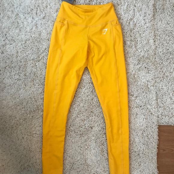 cd8d7c6217d184 Gymshark Dreamy 2.0 leggings Citrus Lemon